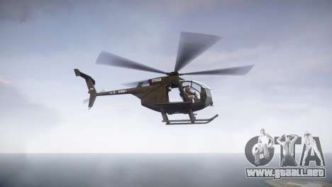 MH-6 Little Bird para GTA 4 left
