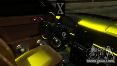 Lada Priora Sedan para la visión correcta GTA San Andreas