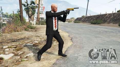 GTA 5 Hitman - Agente 47 tercera captura de pantalla