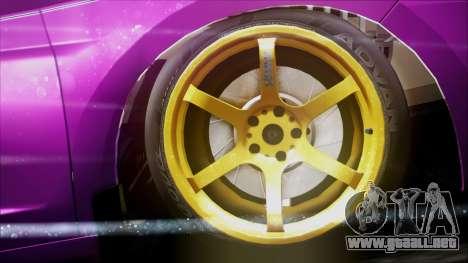 Honda CRZ Hybird Pink Cute para la visión correcta GTA San Andreas