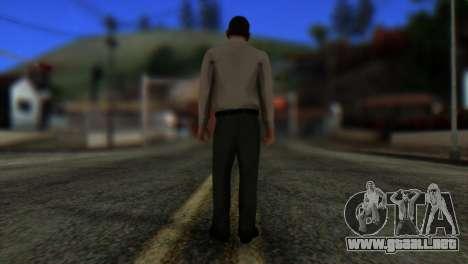 GTA 5 Skin 7 para GTA San Andreas segunda pantalla