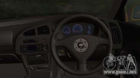 Mitsubishi Lancer Evolution VI 1999 PJ para la visión correcta GTA San Andreas