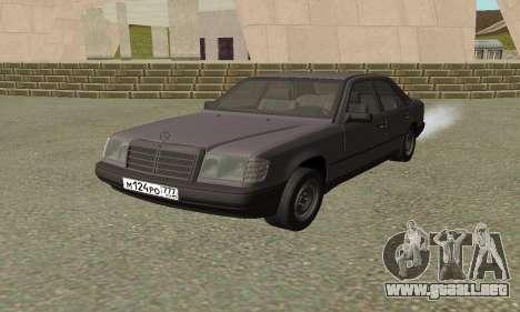 Mercedes-Benz W124 E200 para GTA San Andreas