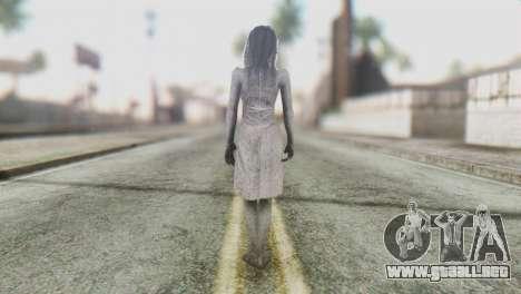 Kayako Skin para GTA San Andreas tercera pantalla