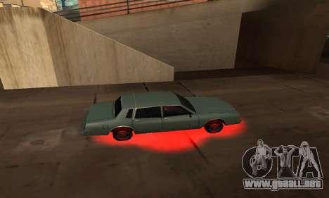 Cleo De Neón para GTA San Andreas segunda pantalla