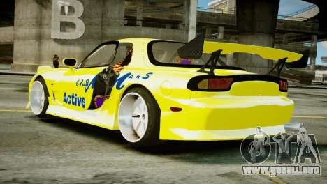 Mazda RX-7 FD3S BN Sports para GTA 4 left