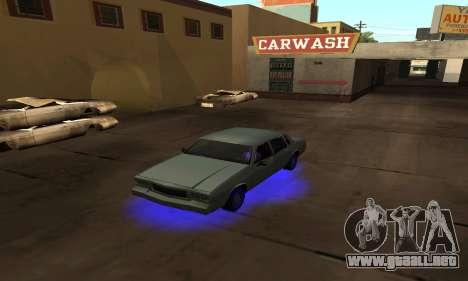 Cleo De Neón para GTA San Andreas sucesivamente de pantalla