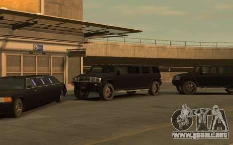 Mammoth Patriot Limousine para GTA 4 Vista posterior izquierda