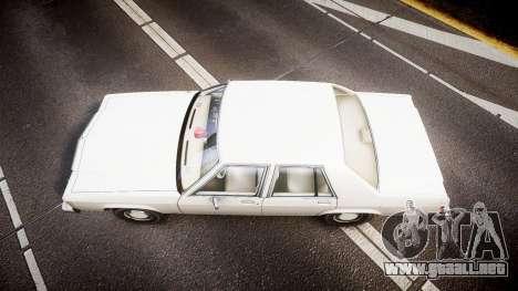Ford LTD Crown Victoria 1987 Detective [ELS] v2 para GTA 4 visión correcta