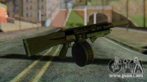 Assault Shotgun GTA 5 v2 para GTA San Andreas segunda pantalla