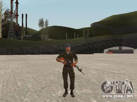 El aire de soldado de Ucrania para GTA San Andreas
