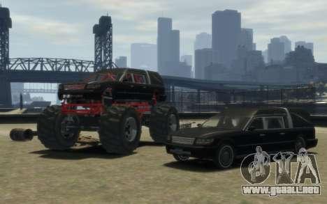 Albany Undertaker (Romero Monster) para GTA 4 vista hacia atrás