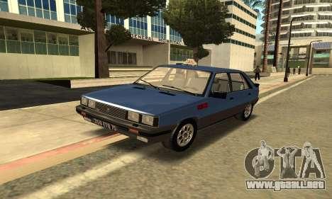 Renault 11 TXE Taxi para GTA San Andreas left