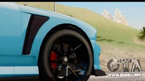GTA 5 Bravado Buffalo S Sprunk IVF para GTA San Andreas vista hacia atrás