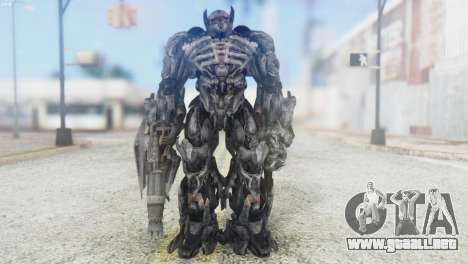 Shockwave Skin from Transformers v2 para GTA San Andreas segunda pantalla