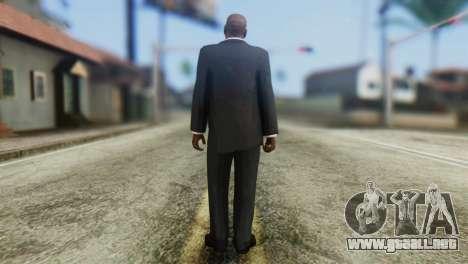 Strpreach Skin from GTA 5 para GTA San Andreas segunda pantalla