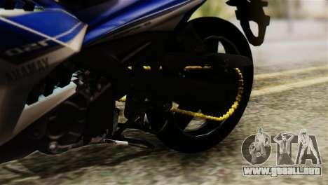 Yamaha MX KING 150 para GTA San Andreas vista hacia atrás