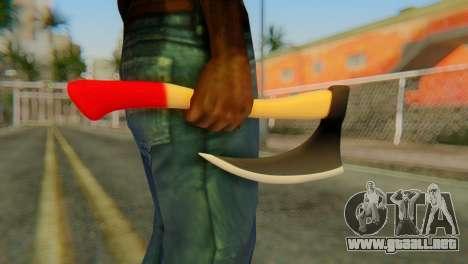 Axe para GTA San Andreas tercera pantalla