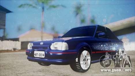 Ford Escort para la visión correcta GTA San Andreas