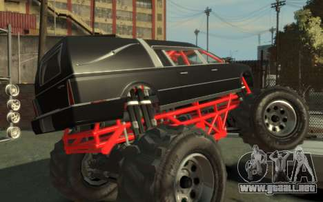 Albany Undertaker (Romero Monster) para GTA 4 left