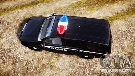 Chevrolet Tahoe SPVQ [ELS] para GTA 4 visión correcta