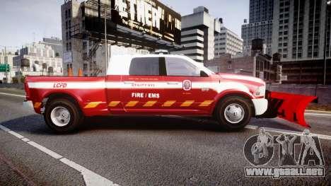 Dodge Ram 3500 2013 Utility [ELS] para GTA 4 left