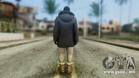 Snowcop Skin from GTA 5 para GTA San Andreas segunda pantalla