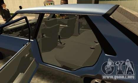Renault 11 TXE Taxi para la vista superior GTA San Andreas
