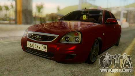Lada Priora Sedan para GTA San Andreas