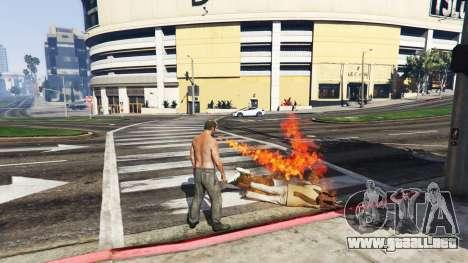 GTA 5 Fuego-respiración v2.0 tercera captura de pantalla