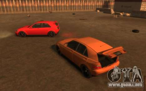 Karin Sultan Hatchback v2 para GTA 4 vista superior