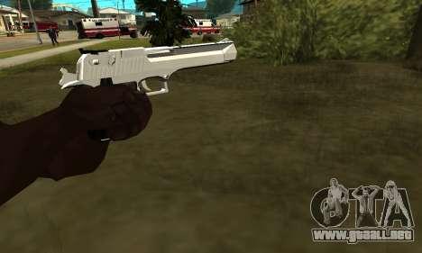Metalic Deagle para GTA San Andreas segunda pantalla