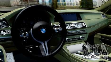 BMW M550d para la visión correcta GTA San Andreas