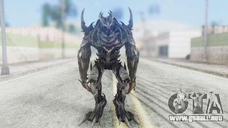 Crankcase Skin from Transformers para GTA San Andreas segunda pantalla