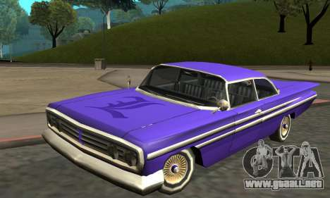 Luni Voodoo Remastered para GTA San Andreas