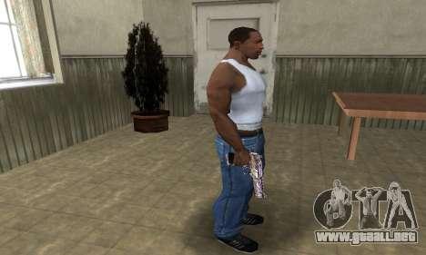 Good Look Like Deagle para GTA San Andreas tercera pantalla