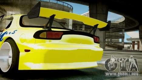 Mazda RX-7 FD3S BN Sports para GTA 4 visión correcta