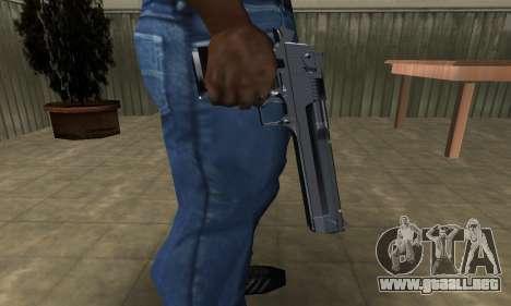 Refle Deagle para GTA San Andreas segunda pantalla