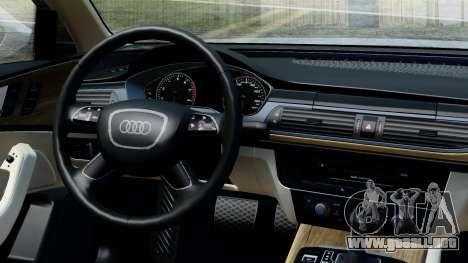 Audi A6 Stanced para la visión correcta GTA San Andreas