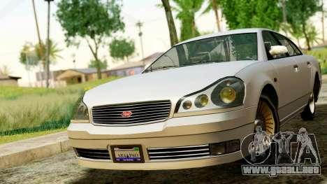 GTA 4 Intruder para la visión correcta GTA San Andreas