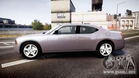 Dodge Charger Police Unmarked [ELS] para GTA 4 left