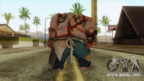 Pudge from DotA 2 para GTA San Andreas segunda pantalla