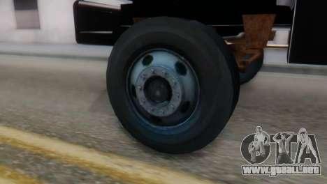 GMC Top Kick 88-95 para GTA San Andreas vista posterior izquierda
