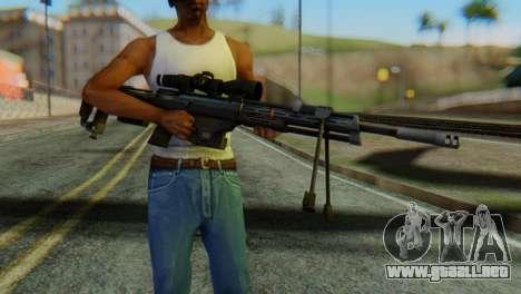 DSR50 Sniper Rifle para GTA San Andreas tercera pantalla