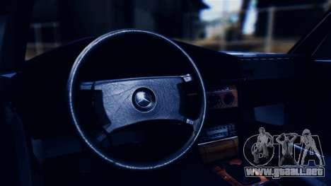 Mercedes-Benz 190E (W201) para visión interna GTA San Andreas