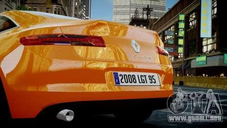 Renault Laguna Coupe para GTA 4 visión correcta