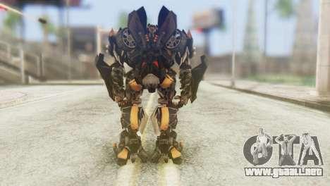 Bumblebee Skin from Transformers v1 para GTA San Andreas tercera pantalla