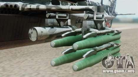 Changhe WZ-10 para la visión correcta GTA San Andreas