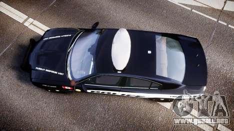 Dodge Charger Alderney Police para GTA 4 visión correcta
