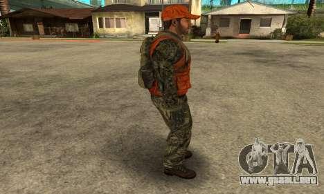 Job Man para GTA San Andreas quinta pantalla